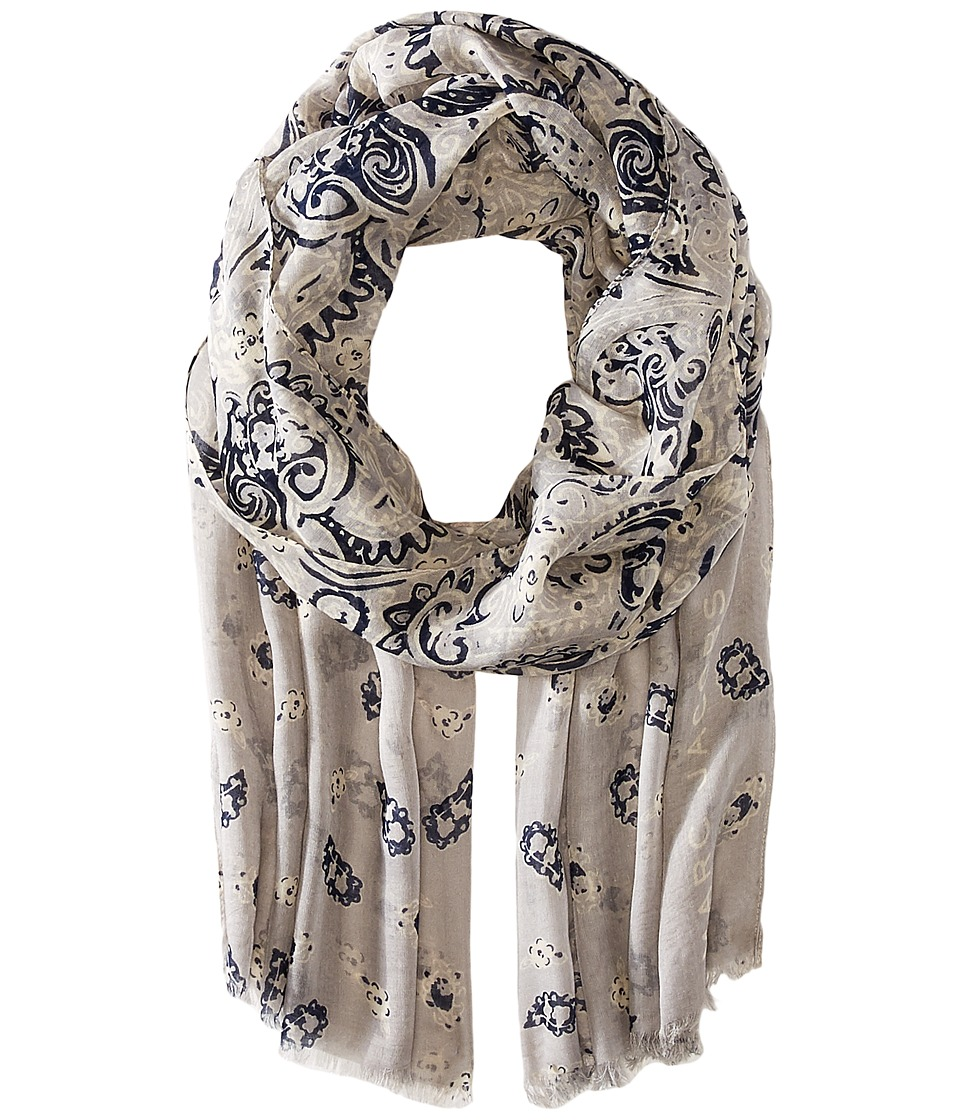 Marc Jacobs - Paisley Scarf (Silver Multi) Scarves