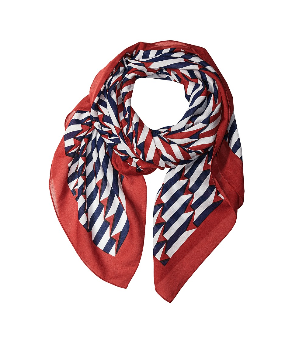 Marc Jacobs - Arrow Head Scarf (Kiss Multi) Scarves