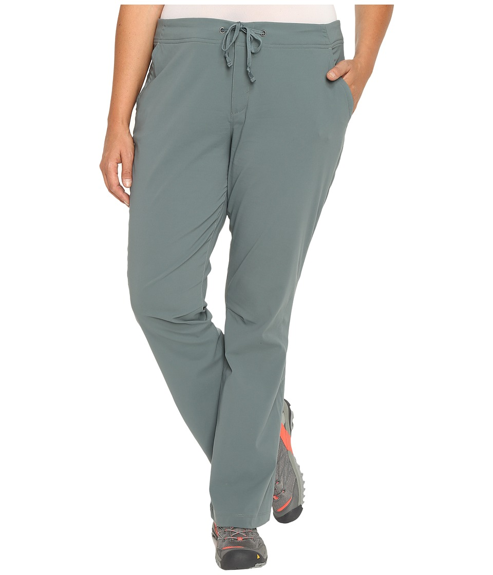 Columbia - Plus Size Anytime Outdoor Boot Cut Pant (Pond) Women's Casual Pants
