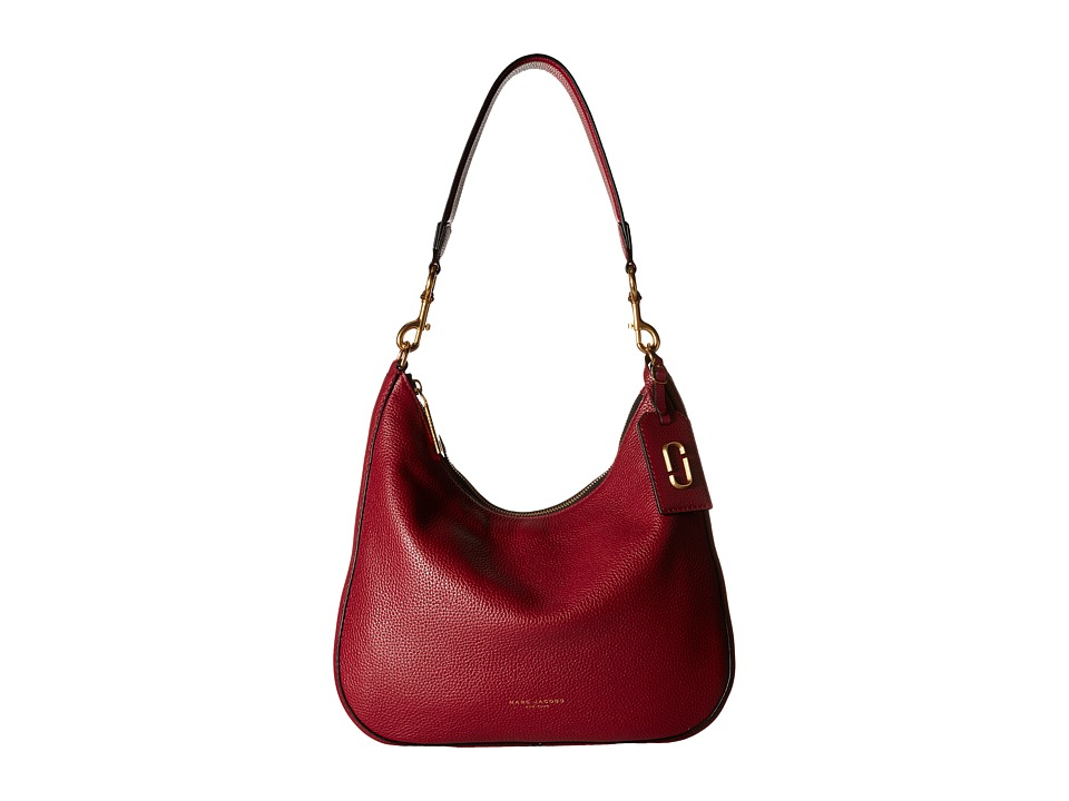 Marc Jacobs - Gotham Hobo (Merlot) Hobo Handbags