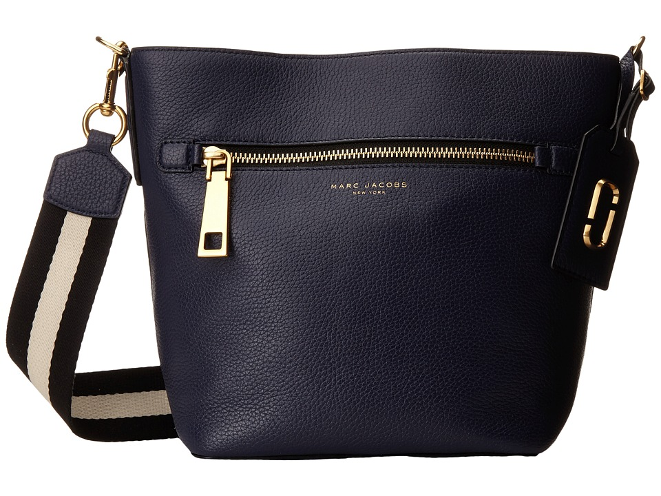 Marc Jacobs - Gotham Bucket (Midnight Blue) Handbags