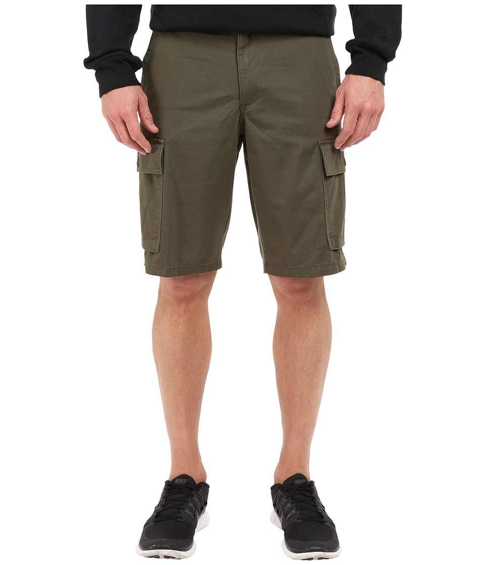 Dockers Men's - Dockers Cargo Solid Twill Shorts (Dockers Olive) Men's Shorts