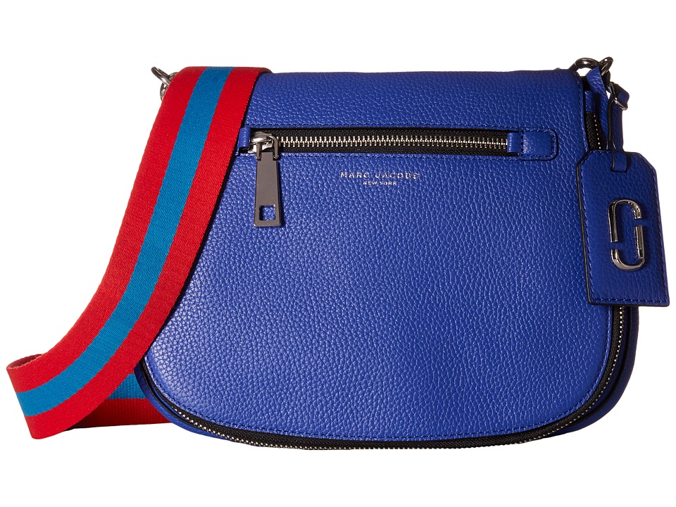 Marc Jacobs - Gotham Saddle Bag (Cobalt Blue) Handbags