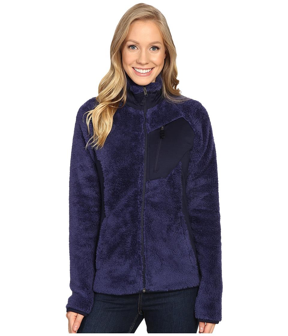 Columbia - Double Plush Sporty Full Zip (Nightshade/Ebony Blue) Women's Coat