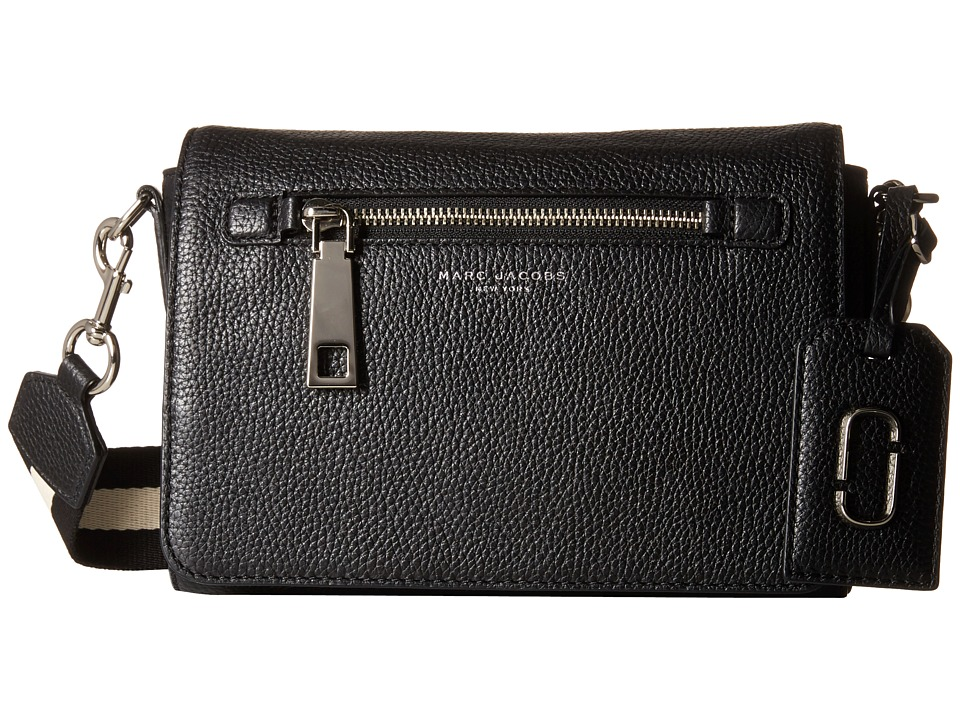 Marc Jacobs - Gotham Small Shoulder Bag (Black) Shoulder Handbags