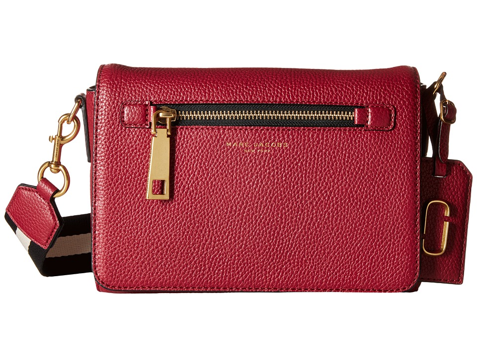 Marc Jacobs - Gotham Small Shoulder Bag (Merlot) Shoulder Handbags