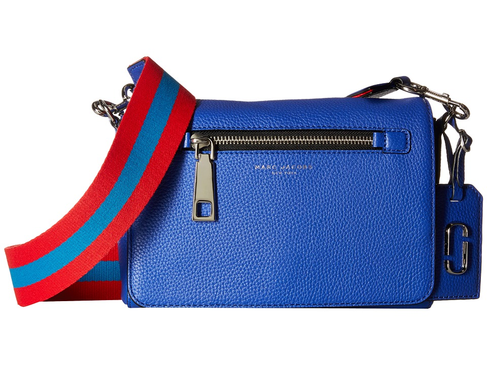 Marc Jacobs - Gotham Small Shoulder Bag (Cobalt Blue) Shoulder Handbags