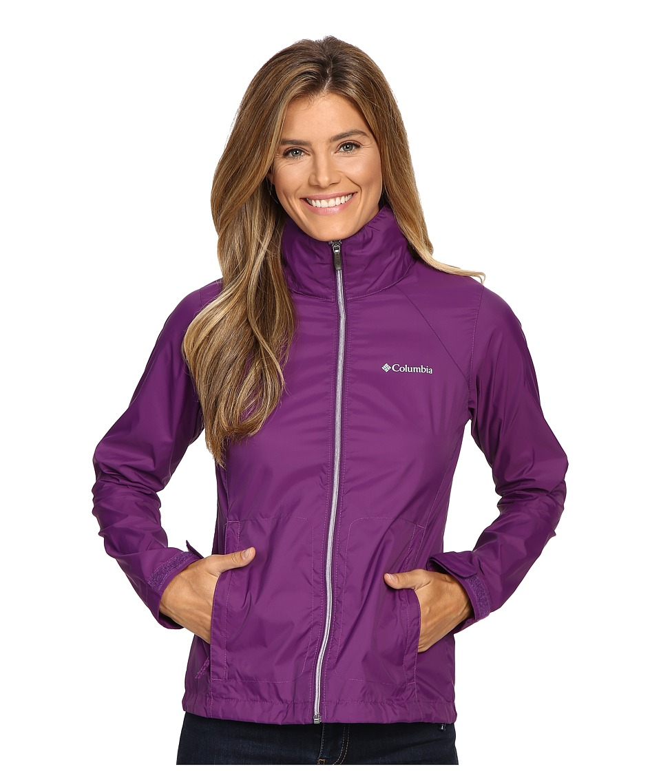Columbia - Switchback II Jacket (Iris Glow) Women's Coat