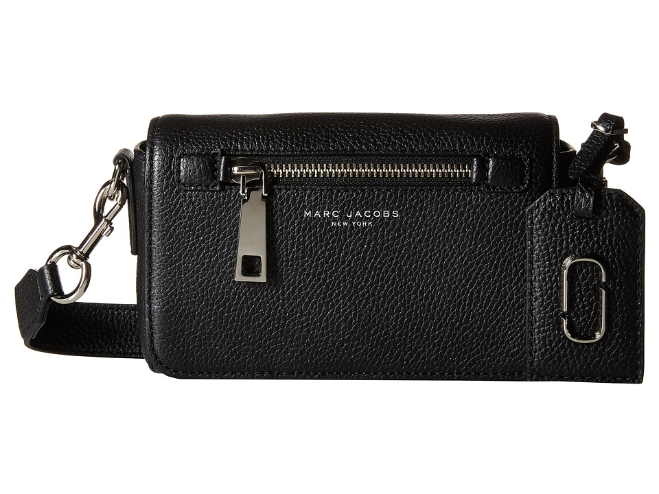 Marc Jacobs - Gotham Crossbody (Black) Cross Body Handbags