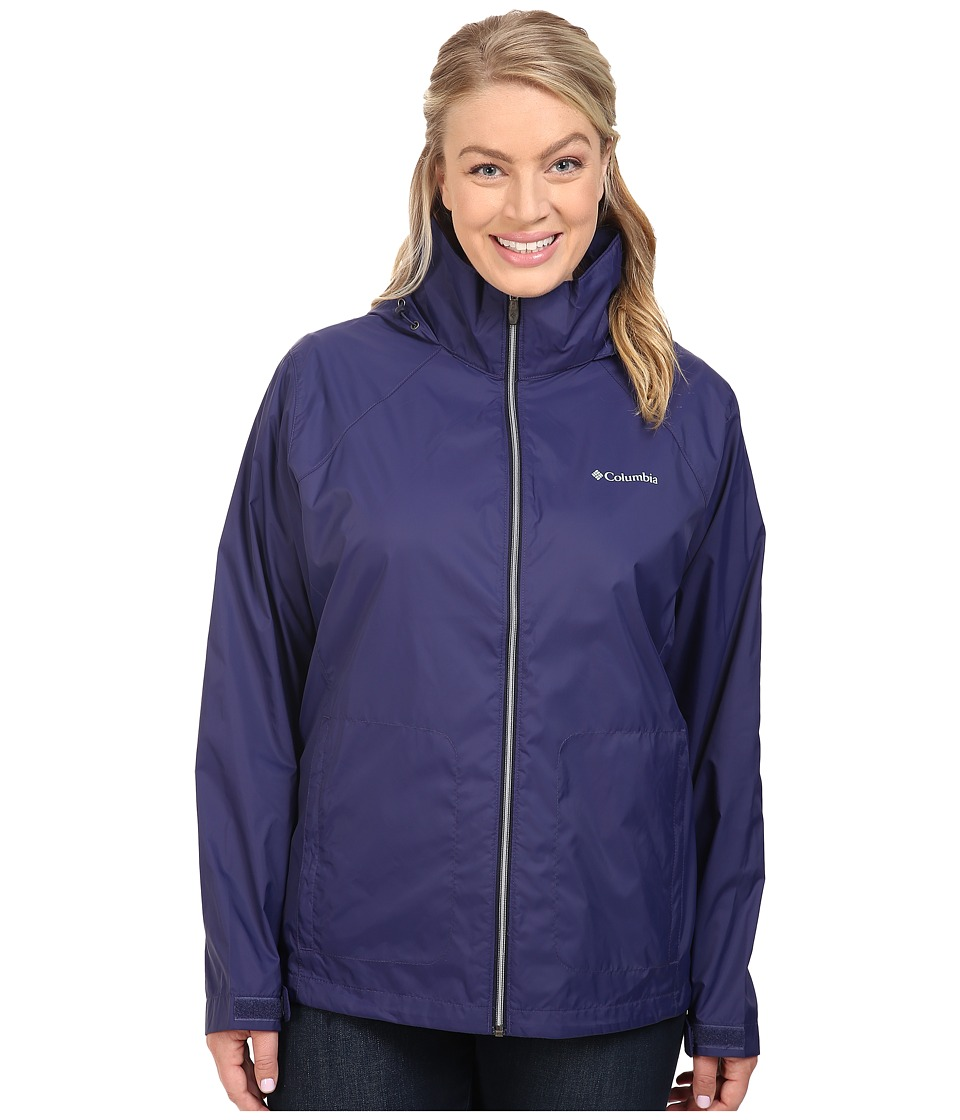 Columbia - Plus Size Switchback II Jacket (Nightshade) Women's Coat