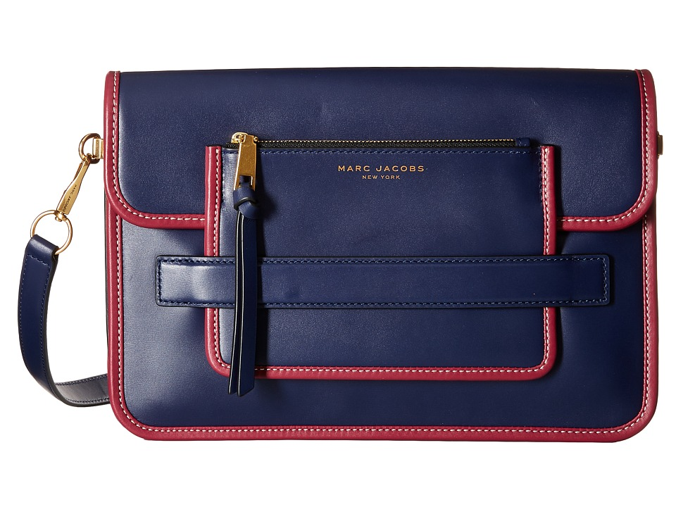 Marc Jacobs - Madison Large Shoulder Bag (Midnight Blue) Shoulder Handbags