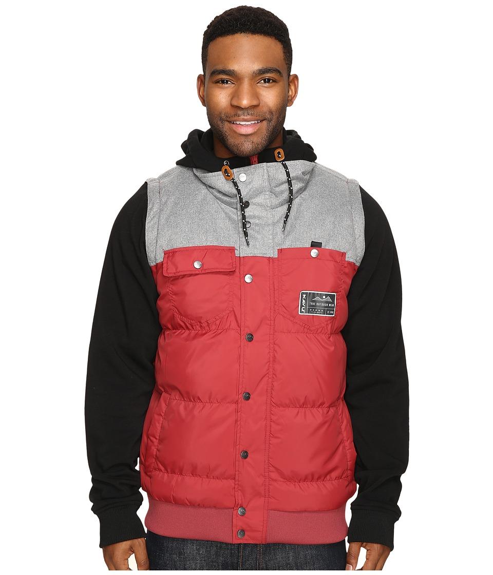 KAVU - Inland (Brick) Men's Clothing