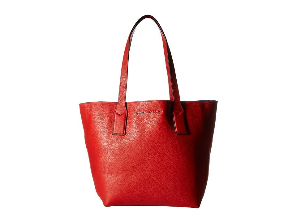Marc Jacobs - Wingman Shopping (Bright Red Multi) Handbags