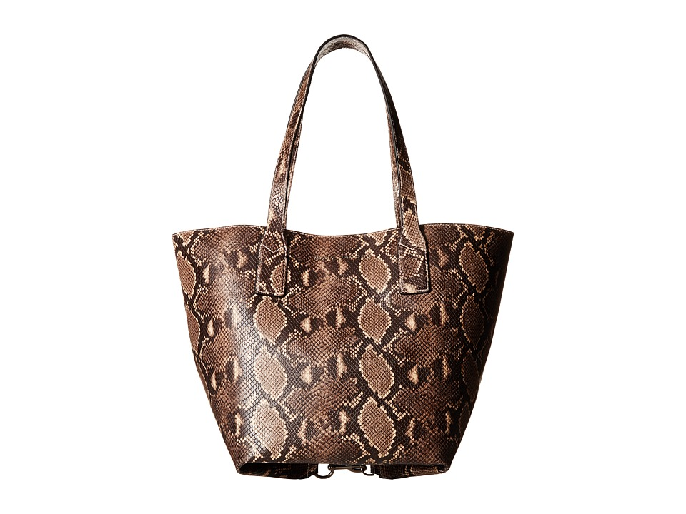 Marc Jacobs - Snake Wingman Shopping (Light Snake Multi) Handbags