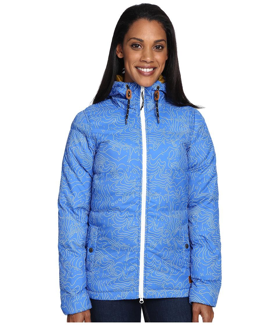 KAVU - Sequoia (Blue/Topo) Women's Clothing