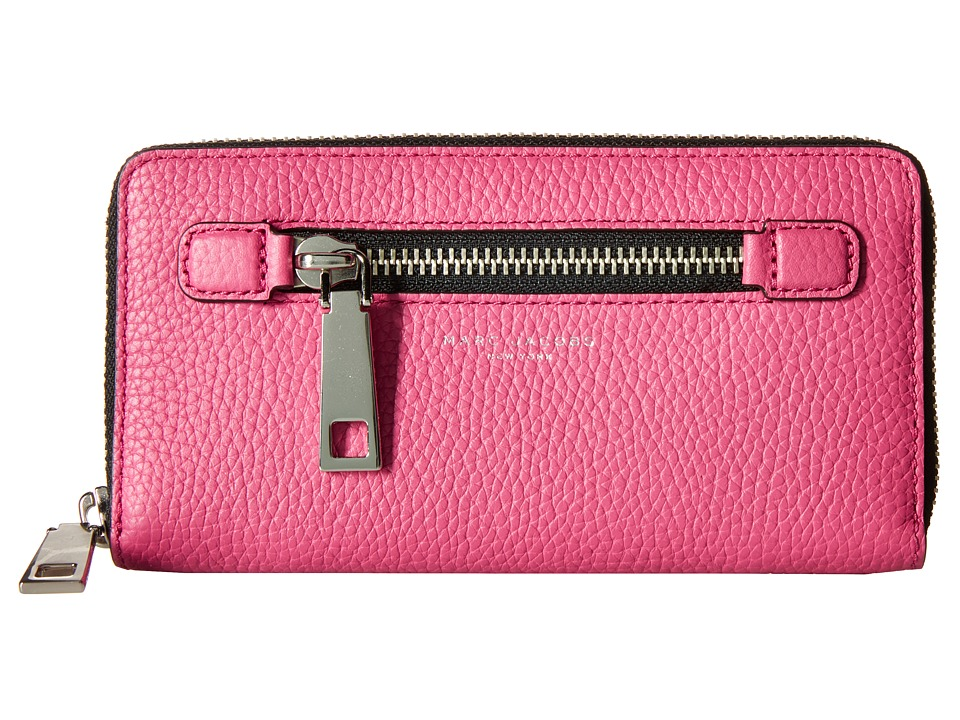 Marc Jacobs - Gotham Continental Wallet (Begonia) Wallet Handbags