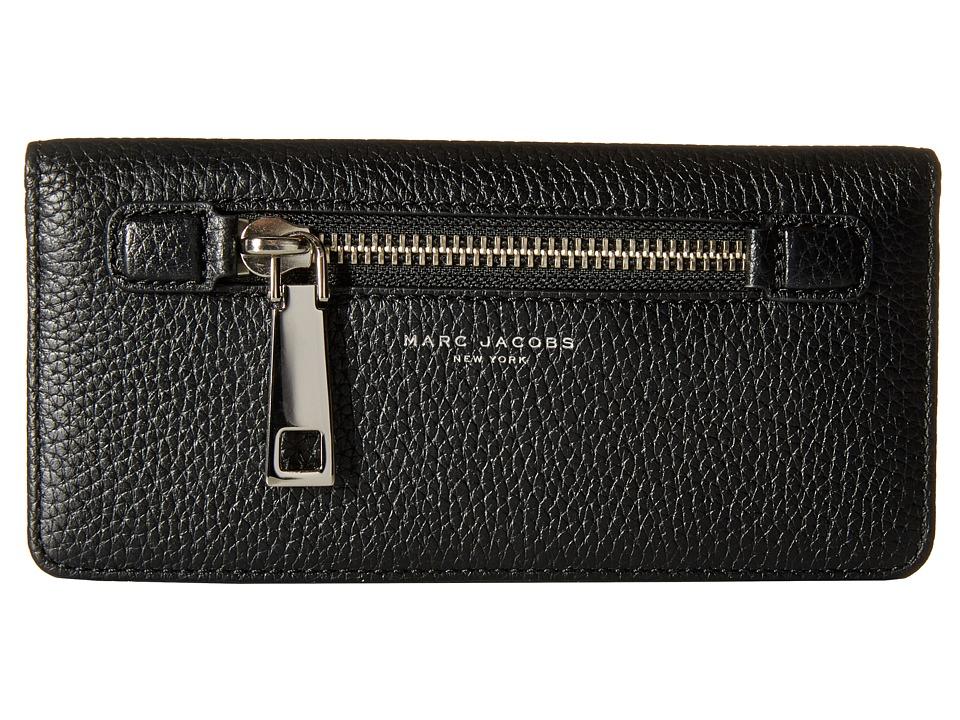 Marc Jacobs - Gotham Open Face Wallet (Black) Wallet Handbags