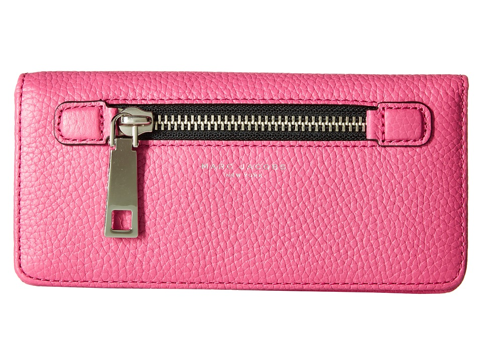 Marc Jacobs - Gotham Open Face Wallet (Begonia) Wallet Handbags