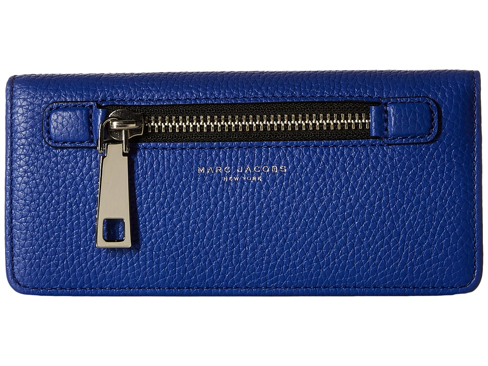 Marc Jacobs - Gotham Open Face Wallet (Cobalt Blue) Wallet Handbags