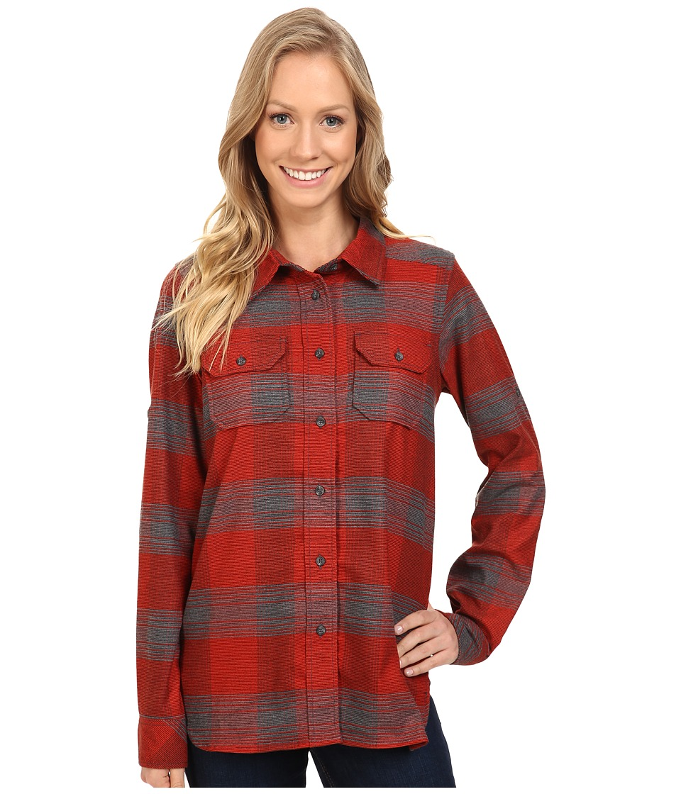 KAVU - Wynonna Top (Lumberjack) Women's Long Sleeve Button Up