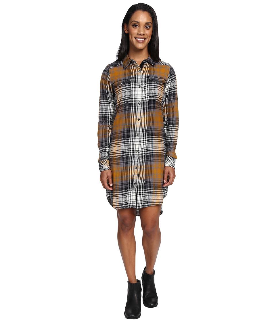 KAVU Jurnee Black-Tan Dress