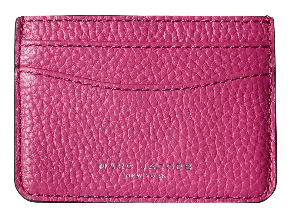 Marc Jacobs - Gotham Card Case (Begonia) Credit card Wallet