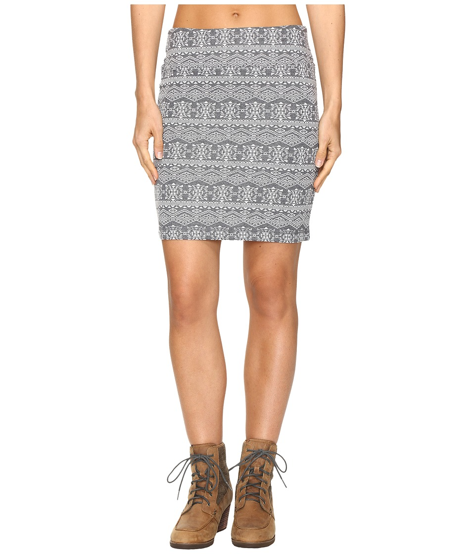 KAVU - Mayra Mini (Grey) Women's Skirt