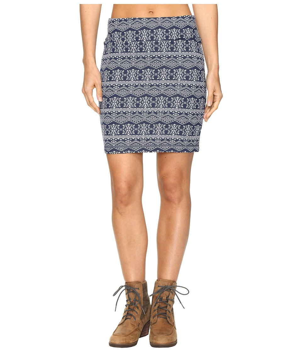 KAVU - Mayra Mini (Navy) Women's Skirt