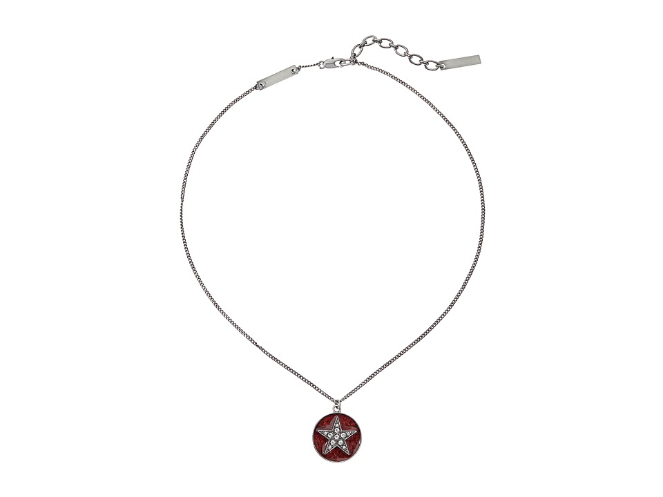 Marc Jacobs - Star Pendant Necklace (Chili Pepper) Necklace