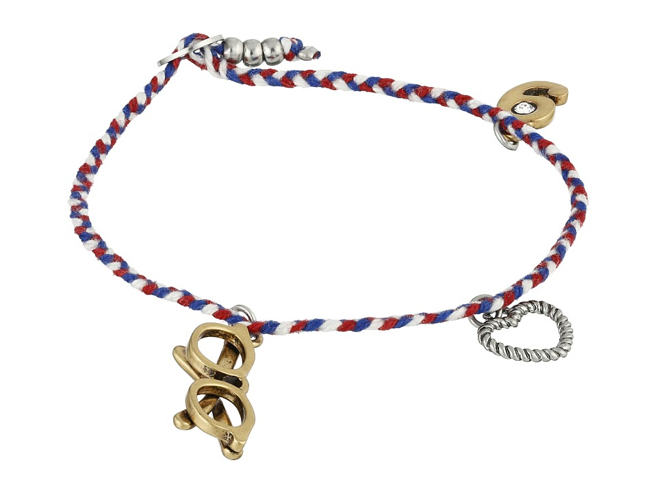 Marc Jacobs - Glasses Friendship Bracelet (Chili Pepper) Bracelet