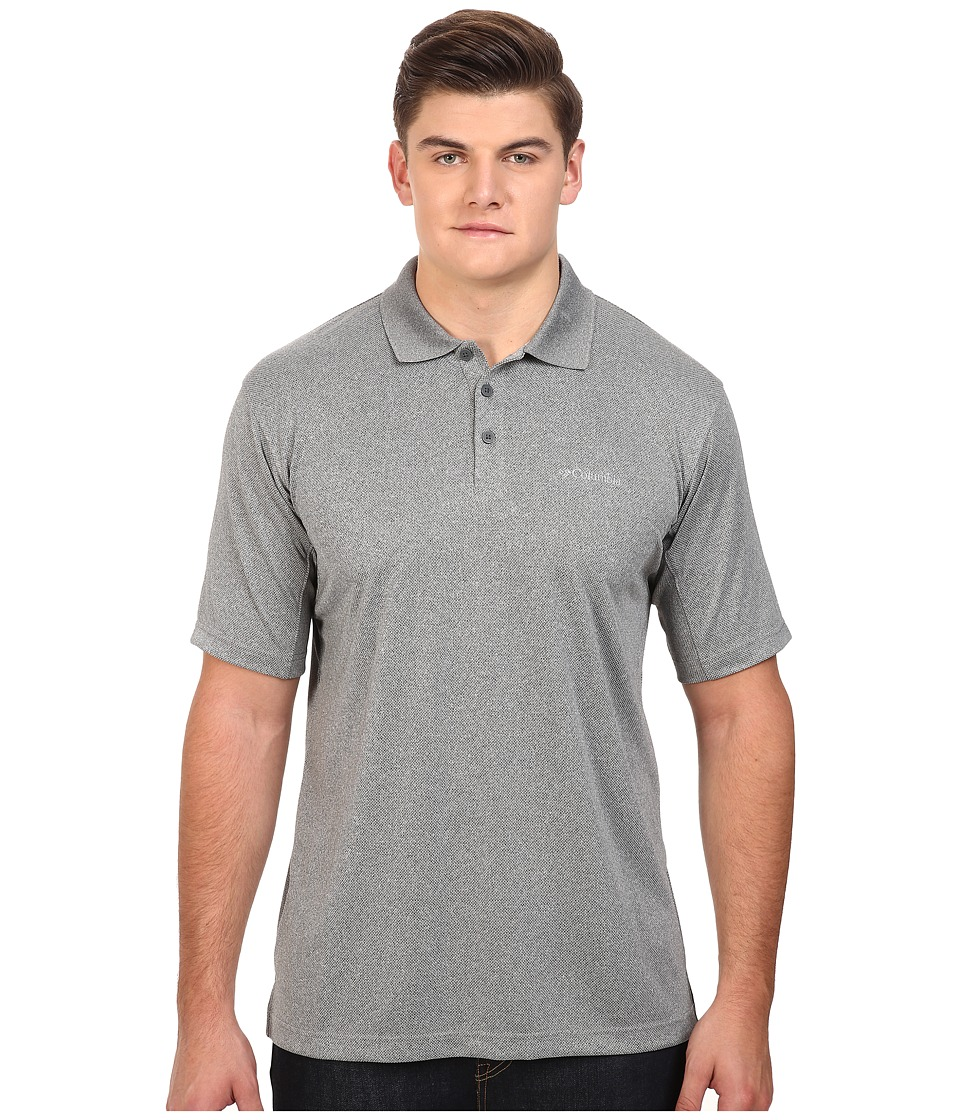 Columbia - Big Tall New Utilizer Polo (Graphite Heather) Men's Short Sleeve Pullover