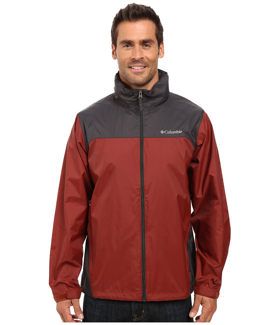 Columbia - Glennaker Lake Rain Jacket (Deep Rust/Grill) Men