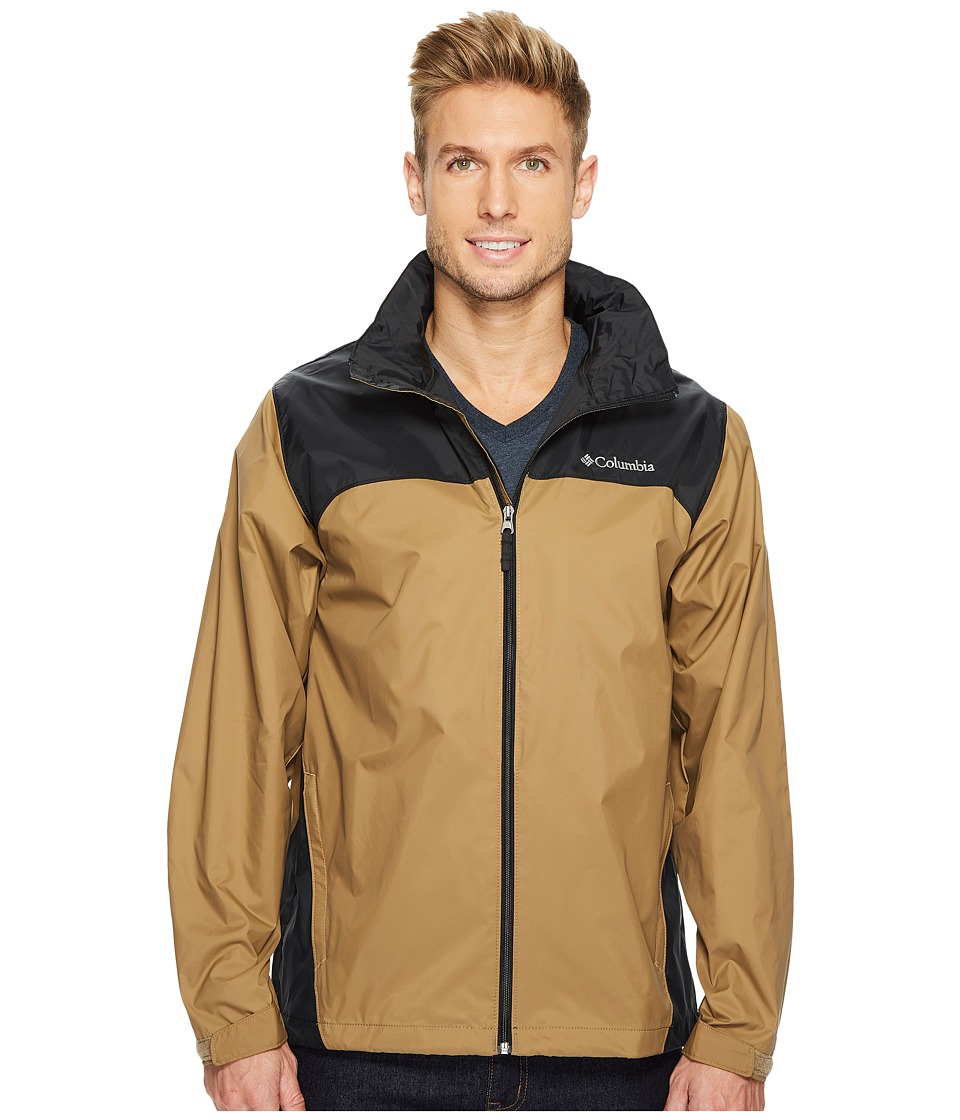 Columbia Glennaker Laketm Rain Jacket (Delta/Black) Men