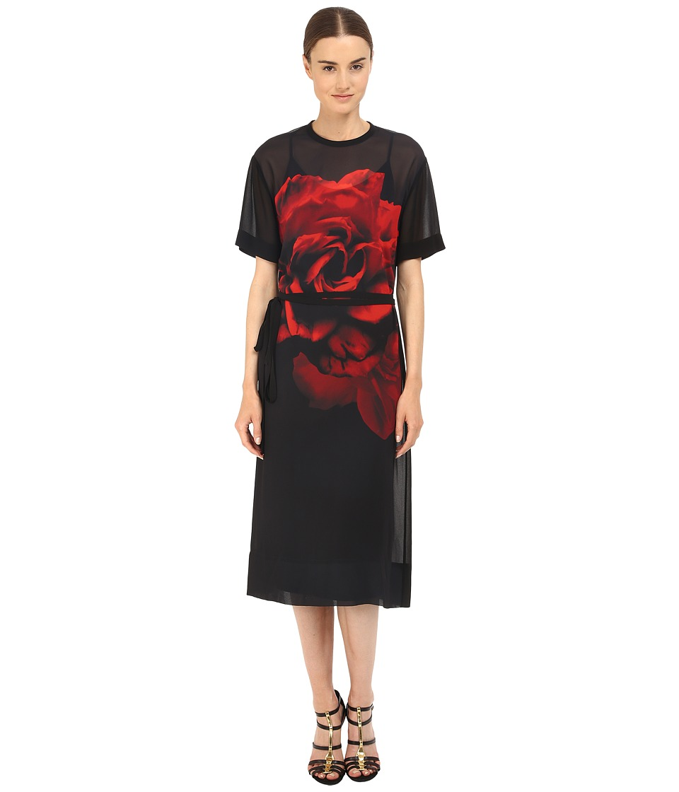 McQ - T-Shirt Dress (Black) Women's Dress