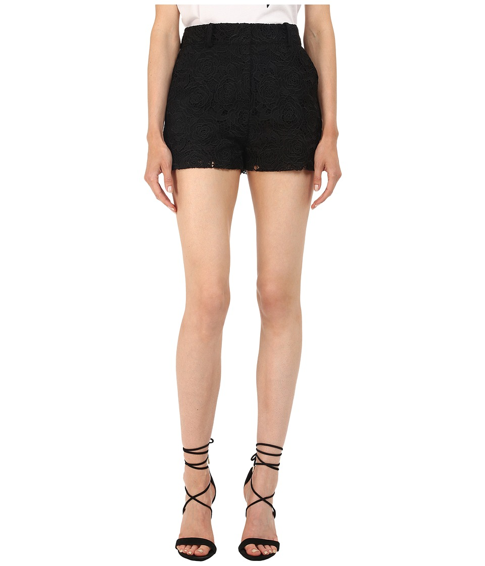 McQ - Lace Shorts (Black) Women's Shorts