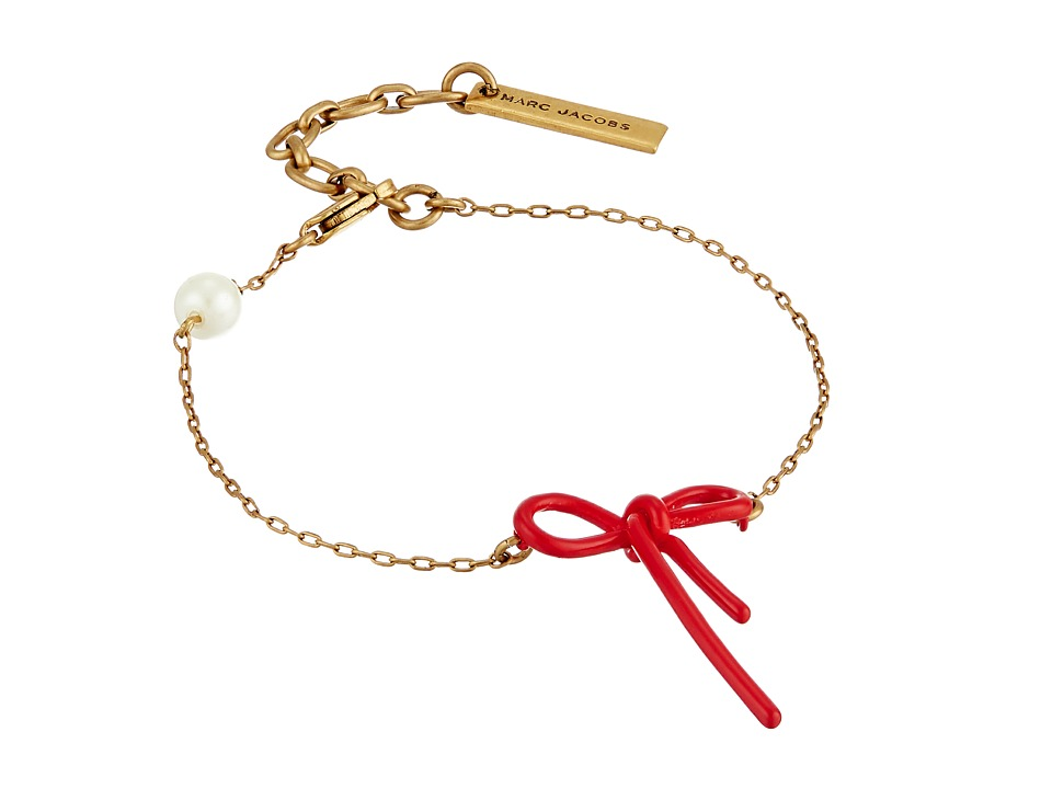 Marc Jacobs - Bow Chain Bracelet (Chili Pepper) Bracelet