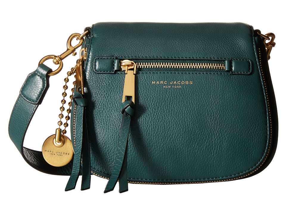 Marc Jacobs - Recruit Small Saddle Bag (Green Jewel) Handbags
