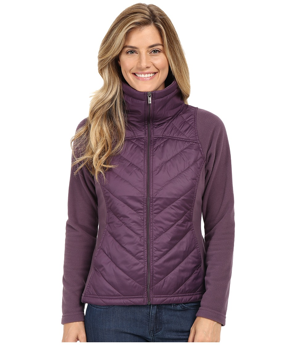 Columbia - Mix It Around Full Zip (Dusty Purple) Women's Coat