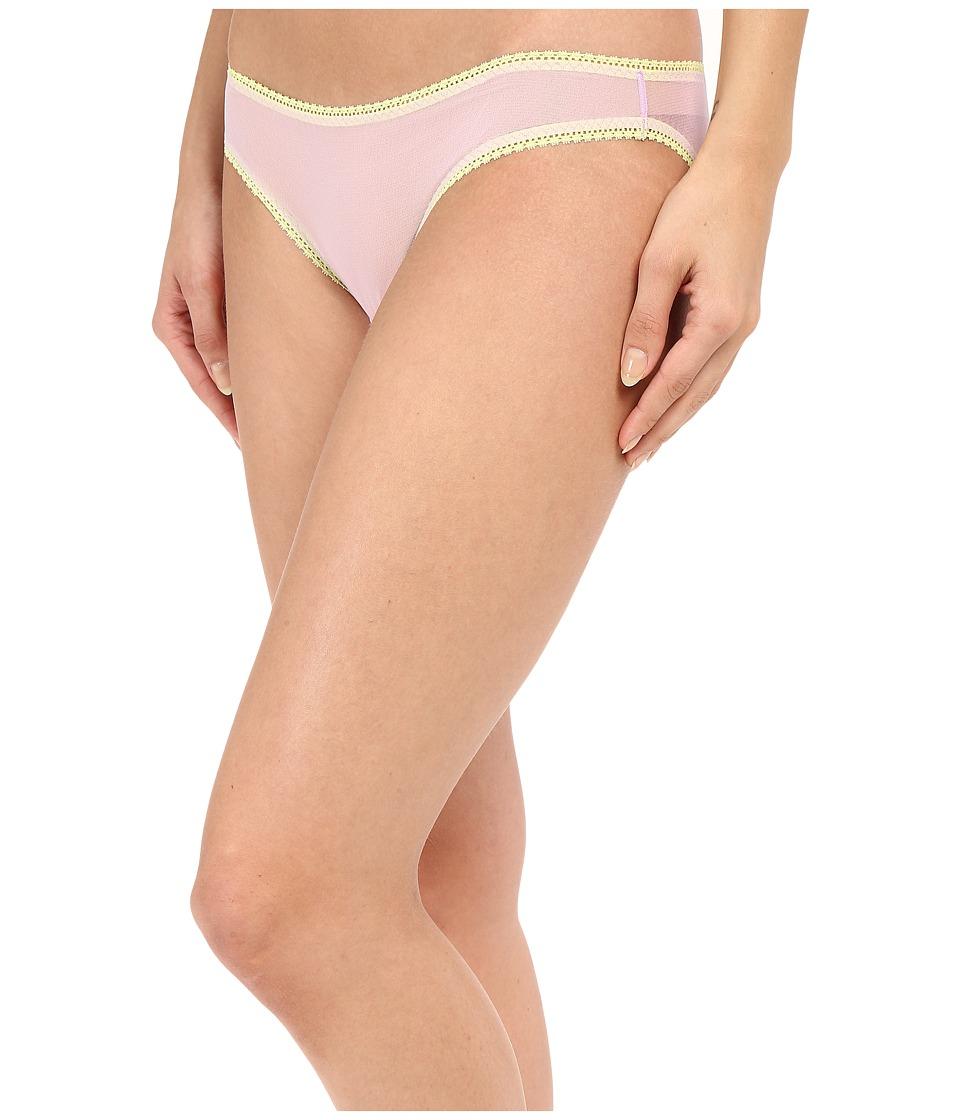 OnGossamer - Solid Gossamer Mesh Hip Bikini 3202 (Waterlily) Women's Underwear