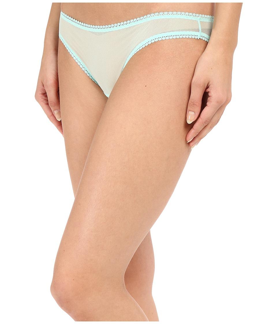 OnGossamer - Solid Gossamer Mesh Hip Bikini 3202 (Mint) Women's Underwear