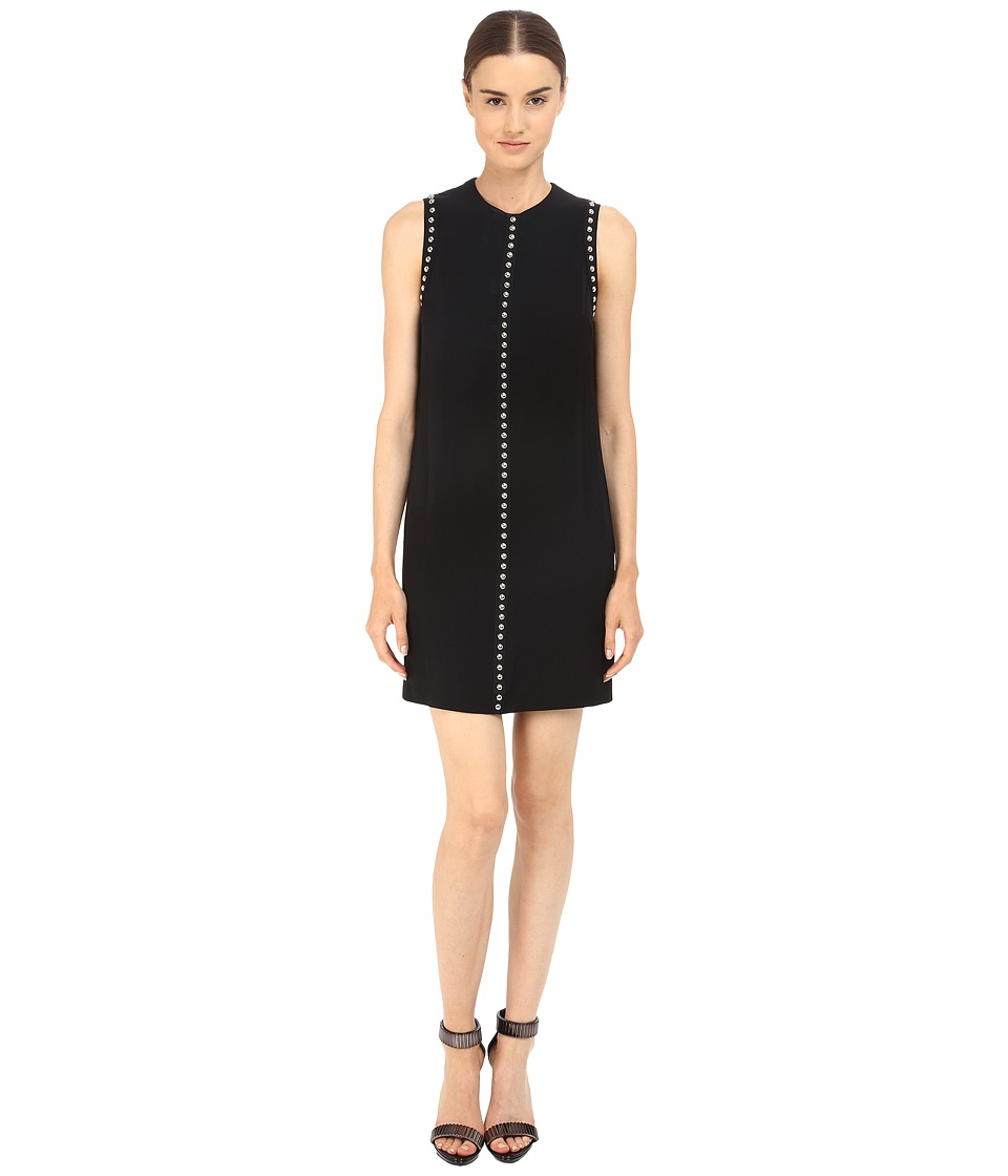 McQ - Studded Shift Dress (Black) Women's Dress