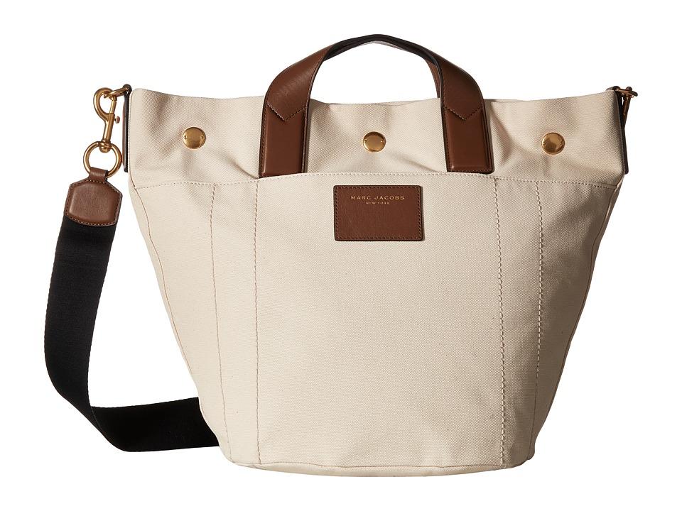 Marc Jacobs - Canvas Leather Trooper Small Paratrooper (Ecru Multi) Handbags