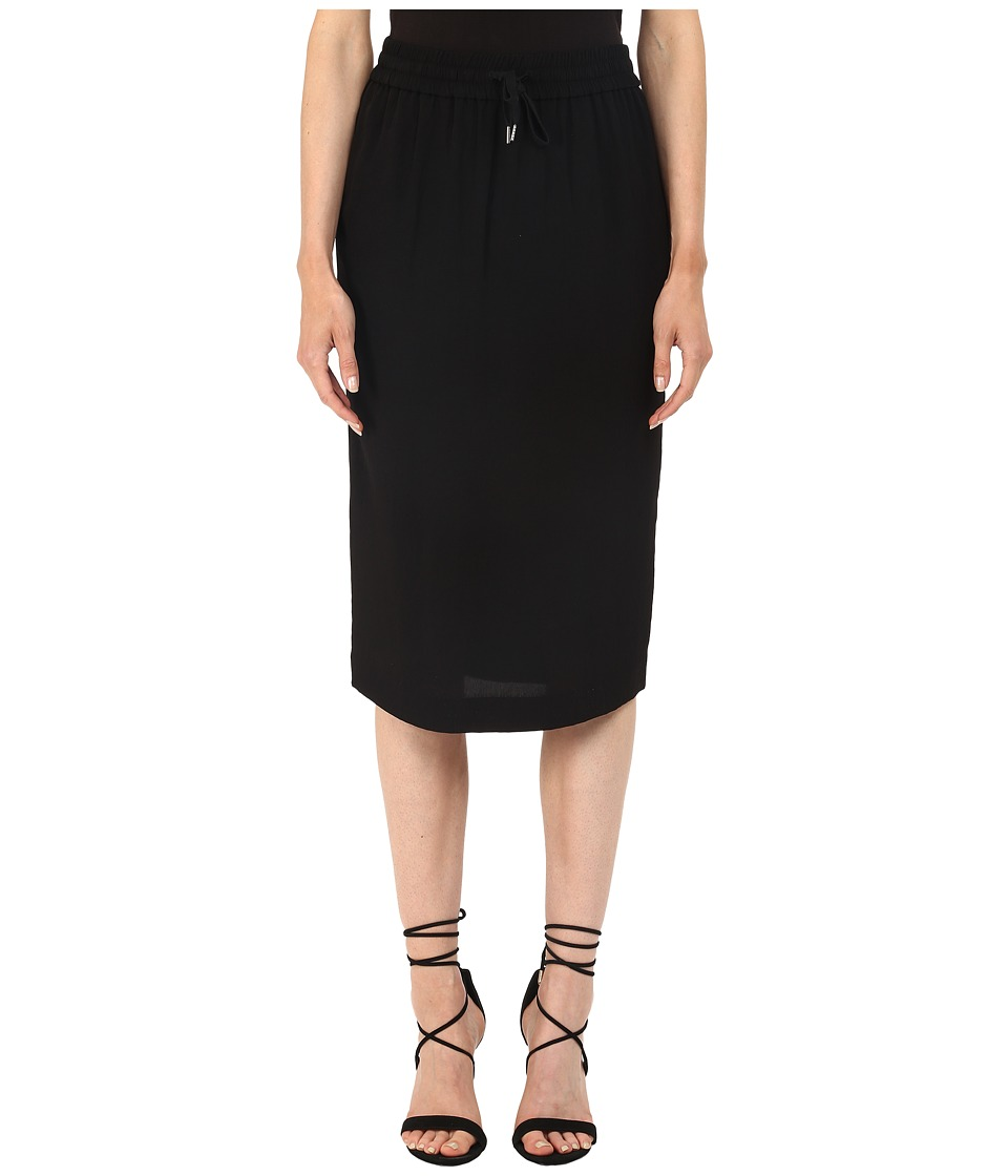 McQ - Drawstring Skirt (Black) Women's Skirt