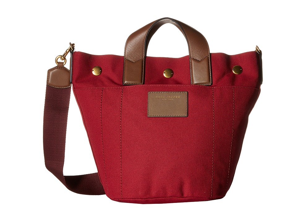 Marc Jacobs - Canvas Leather Trooper Mini Paratrooper (Merlot Multi) Handbags