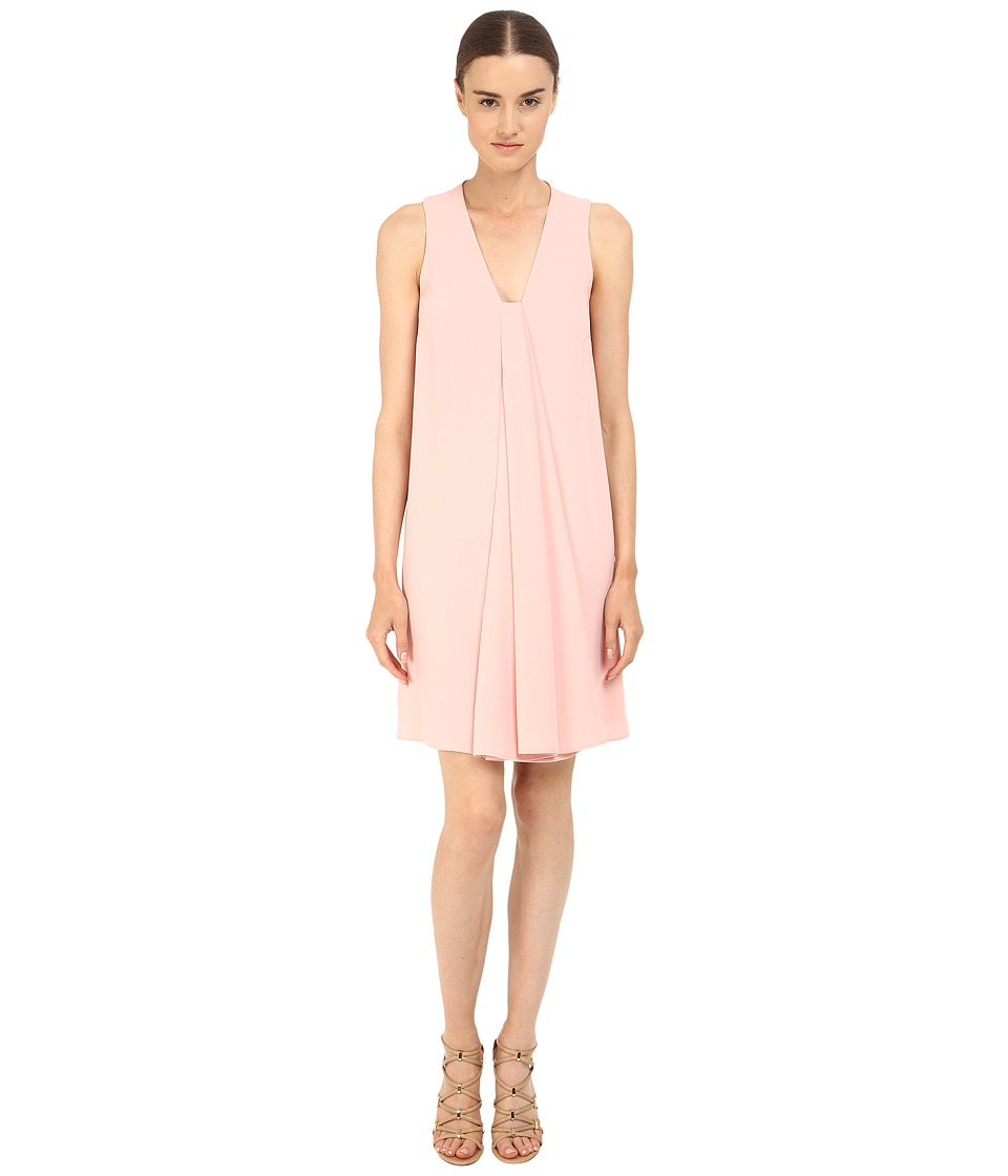 McQ - V Drape Dress (Paloda Pink) Women's Dress