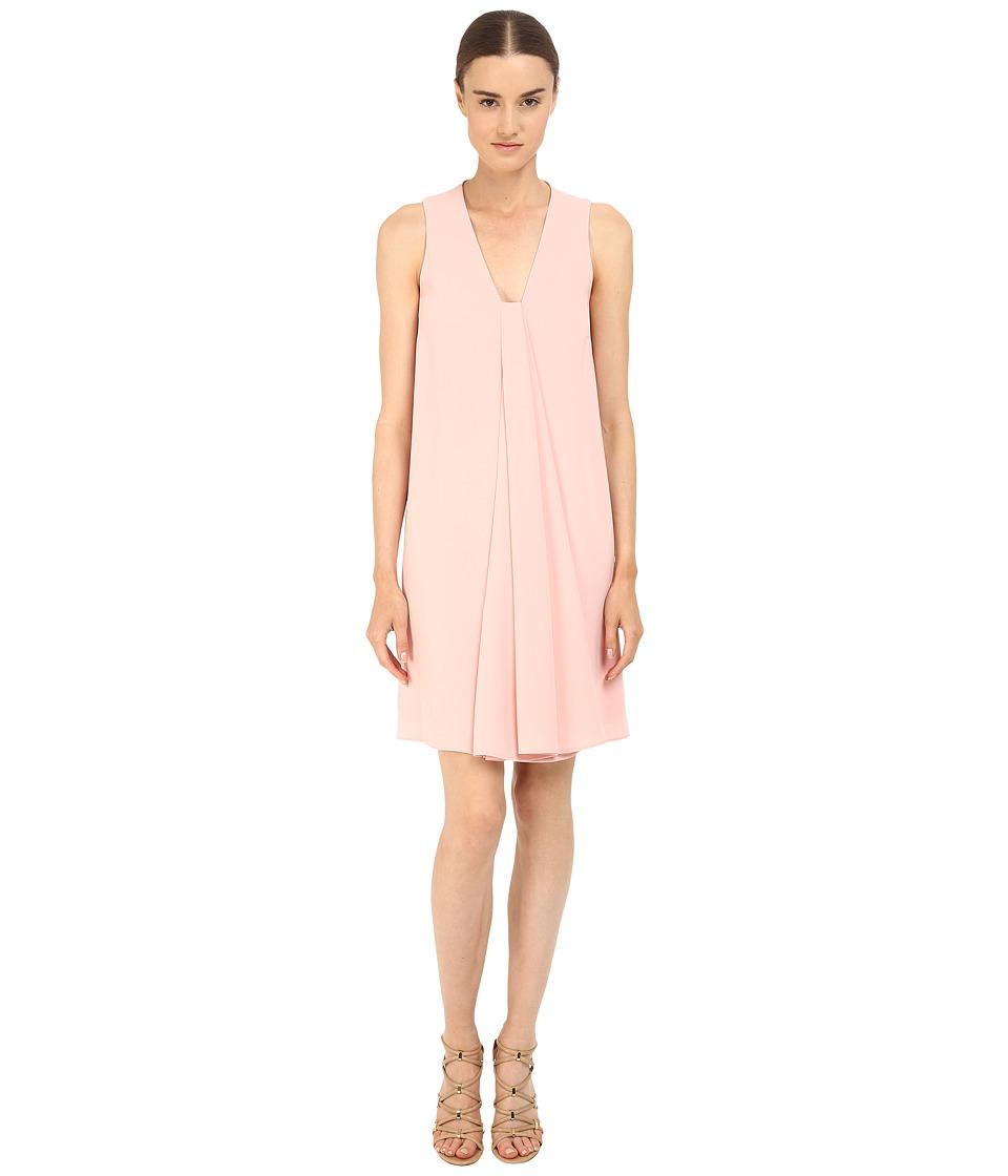 McQ - V Drape Dress (Paloda Pink) Women's Dress