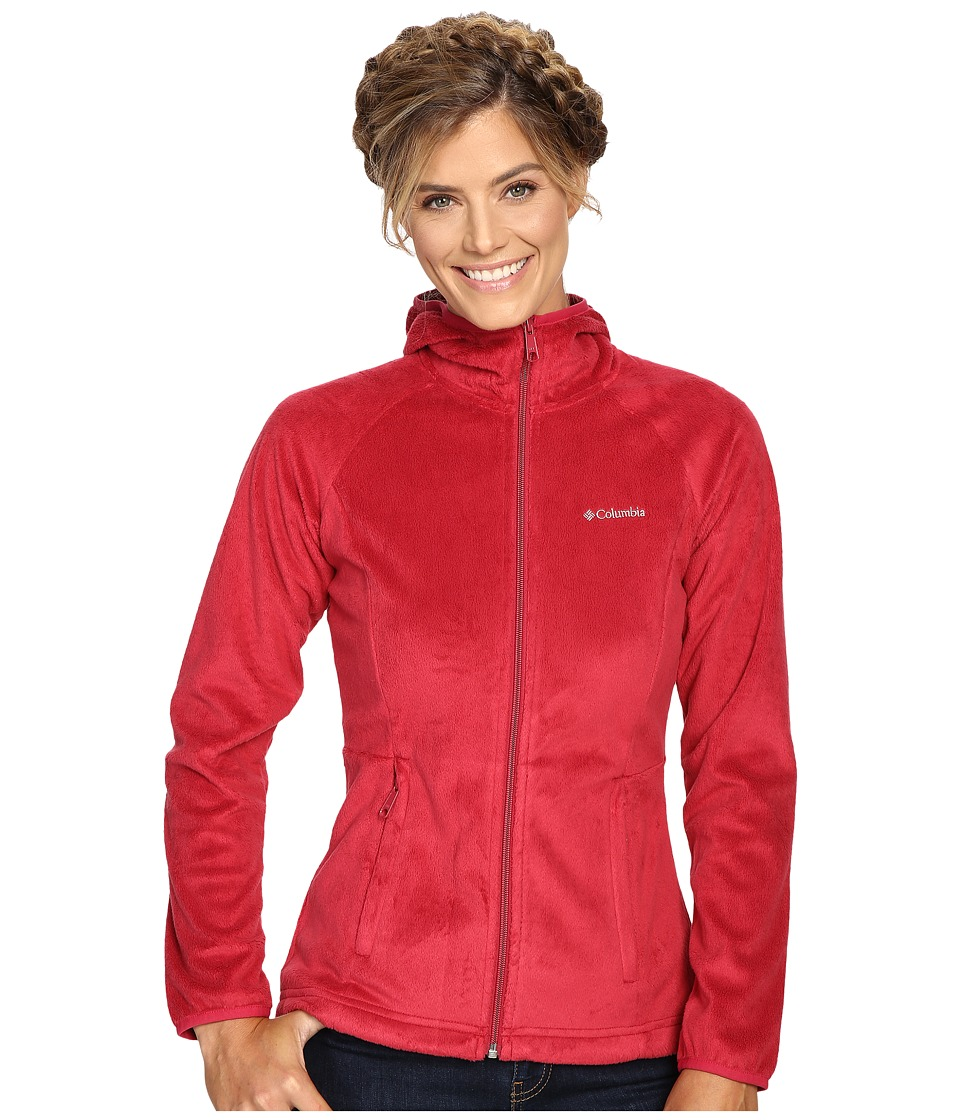 Columbia Cozy Cove Full-Zip Hoodie (Red Orchid) Women