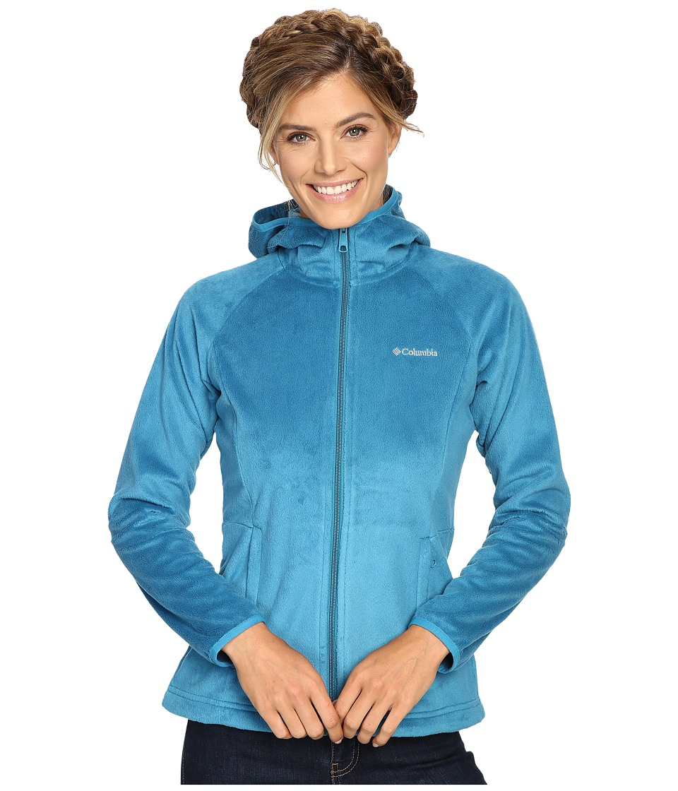 Columbia - Cozy Cove Full-Zip Hoodie (Deep Marine) Women's Coat