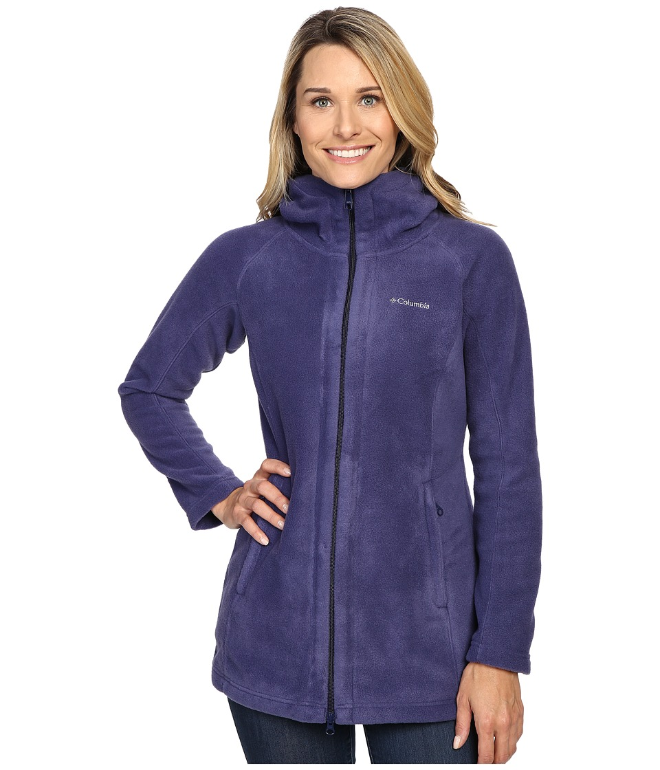 Columbia - Benton Springs II Long Hoodie (Nightshade) Women's Coat