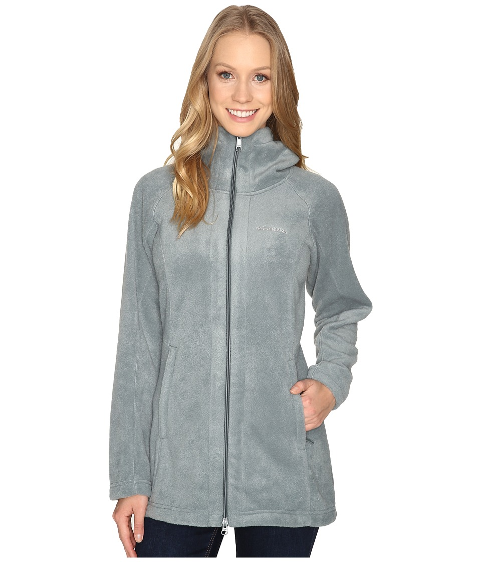 Columbia - Benton Springs II Long Hoodie (Pond) Women's Coat
